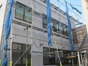 外壁の防水シール工事