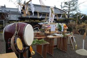 建国記念の日の地鎮祭