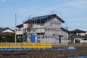 新築住宅の現場