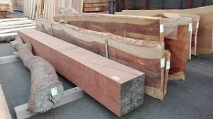 木材のセリ市