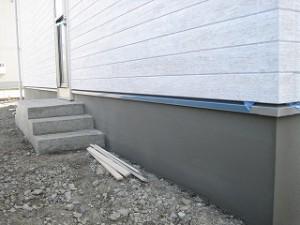 新築住宅のタイル・左官工事