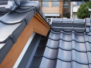 屋根瓦のチェック確認