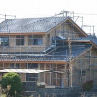 新築住宅の工外部事