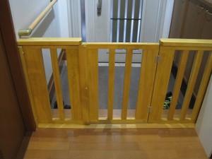 室内のペット用柵
