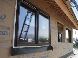 新築住宅の外部工事