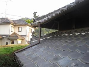 雨樋の取替え