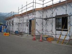 測量会社さんの新築事務所工事