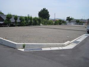 新築住宅の敷地の配置確認