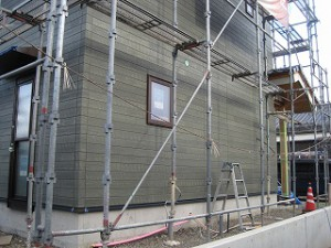 新築住宅の工事進捗報告
