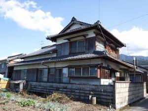 入母屋造りの住宅リフォーム工事
