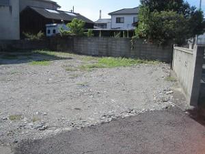 新築住宅の敷地調査
