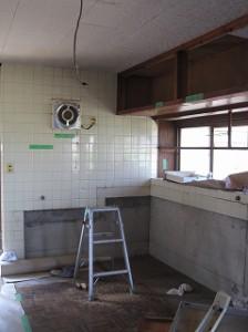 台所のリフォーム工事