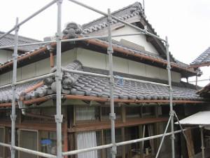 入母屋造りの住宅リフォーム