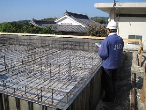 新築の基礎工事
