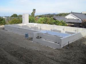 新築住宅工事の状況