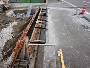 新築住宅の造成工事