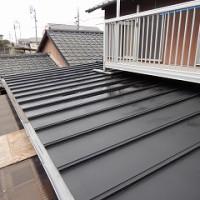 板金屋根の塗り替え工事