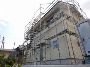 新築住宅工事状況