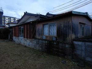 建て替え建屋解体