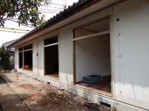 既存建物の解体工事