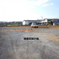 新築住宅の配置計画