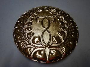 家紋彫金の製作