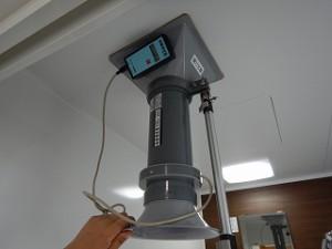 新築住宅の気密性能と24時間換気扇風量測定