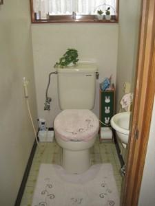トイレ水洗化リフォーム