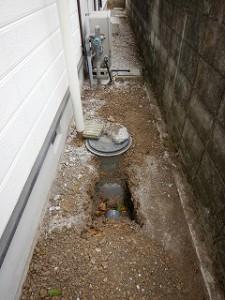 トイレ公共下水水洗化工事