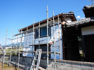 外壁サイディング塗装工事