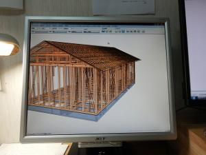 プレカット設計CAD