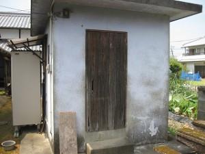 木製建具の取り替え