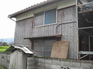 入母屋造りの母家納屋の修繕修理