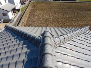 屋根瓦の点検