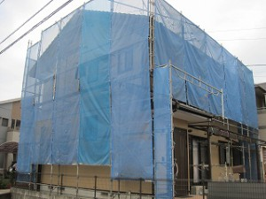 外壁サイディングの塗装工事