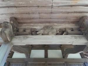 お寺の向拝