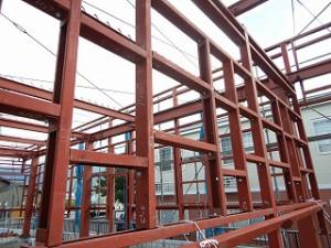 鉄骨建屋のp構造