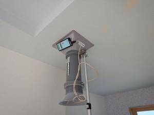 新築住宅の気密性能と換気扇風量測定
