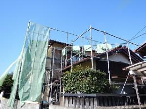 外壁の塗替え工事