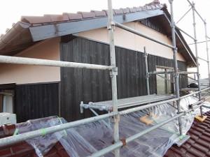 外壁の塗り替え塗装工事