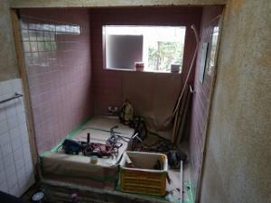 洗面脱衣室・浴室の修繕・リフォーム工事