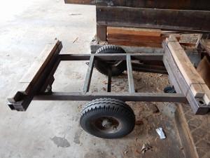 製材所の台車