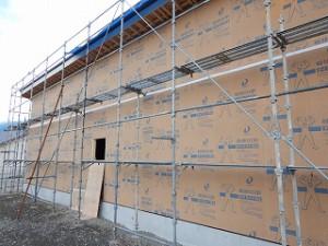 木造平屋建て住宅の構造躯体・金物検査