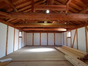 納屋(農業倉庫)の住宅改修リノベーション工事