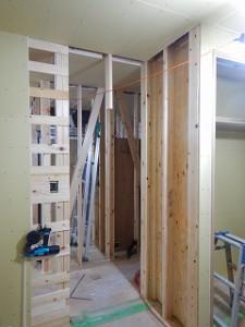 新築住宅の工事状況報告