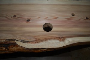 杉板の天然杢