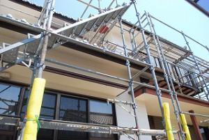 外壁の塗装の塗り替え工事