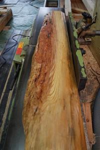 杉の天然銘木材