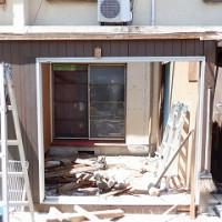 修繕修理で建て替え工事