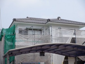 外壁塗り替え塗装工事